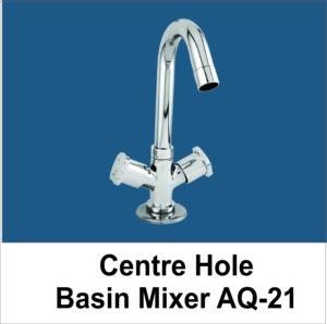 Centre Hole Basin Mixer