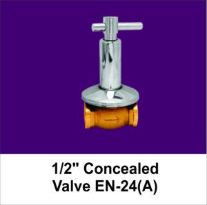Half Concealed Valve