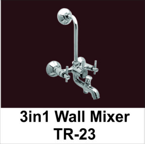 Three in One Wall Mixer