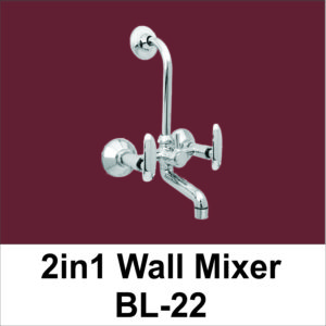 Two in One Wall Mixer